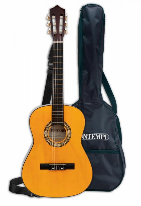 Chitara din lemn 92 cm cu husa
