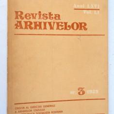 Revista Arhivelor nr. 3 1989