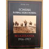 Romania in primul razboi mondial. Beligeranta 1916-1917