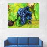 Tablou Canvas, Pictura Artistica Strugure - 80 x 100 cm