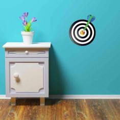 Sticker decorativ de perete Graffiti, 258GRF1022, 30 x 35 cm, Multicolor