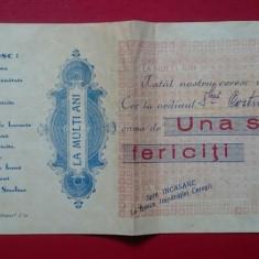 Bilet CEC la multi ani una suta ani