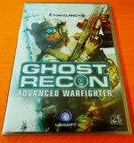 Ghost Recon Advanced Warfighter, PC, original, alte sute de titluri, 18+, Single player, Ubisoft