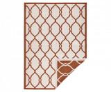 Covor reversibil Twin Rimini Terra Cream 80x150 cm, Polipropilena, Exterior, Hanse Home