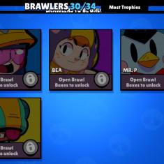 Vand cont de brawl stars max trofee 16000
