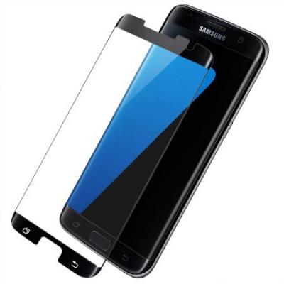 Folie de sticla Samsung Galaxy S7 Edge, Negru Case Frendly Elegance Luxury foto