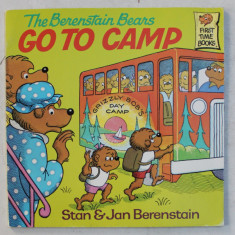 THE BERENSTAIN BEARS GO TO CAMP by STAN and JAN BERENSTAIN , 1982