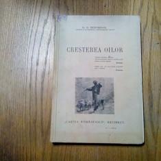 CRESTERA OILOR - N. Teodoreanu (autograf) - Cartea Romaneasca, 1937, 269 p.