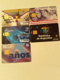 = LOT 41 - ARGENTINA - 5 CARTELE TELEFONICE =