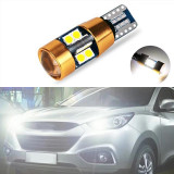 Bec led canbus w5w, alb pur 6000k -led 3030, 22 smd Gold Edition 2020