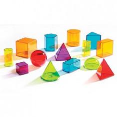 Set figuri geometrice transparente, Learning Resources