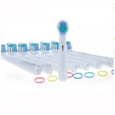 Rezerve periuta de dinti electrica Pebadent Sensitive, compatibil cu Oral-B, 4 buc foto