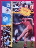 Program meci fotbal DINAMO BUCURESTI - KUUSYSI (Cupa Cupelor 07.09.1988)