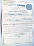 A581-I-Cetificat actiuni vechi Oberbayern Germania 1946. Carton, 21/ 15 cm.