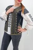 Cumpara ieftin Vesta brodata cu model traditional Angelica 2