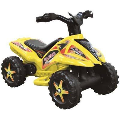 ATV electric cu pedala acceleratie - Galben foto