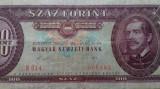 BANCNOTA 100 FORINT 1989-UNGARIA
