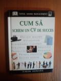 CUM SA SCRIEM UN CV DE SUCCES - SIMON HOWARD