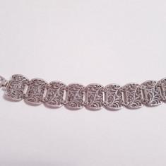 Bratara din argint cu marcasite