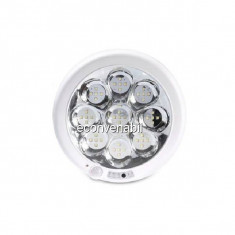 Plafoniera LED cu Senzor 8W 22x22cm Rotunda Tinko TKOSHB60