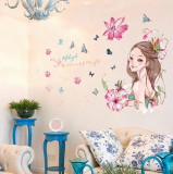 Sticker decorativ, Stylish girls 118 cm, 155STK
