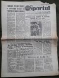 Ziarul Sportul din 2 iunie 1982