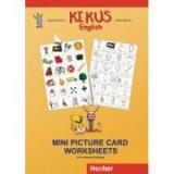 KIKUS Englisch Mini Picture Card Worksheets for vocabulary building - Edgardis Garlin, Stefan Merkle
