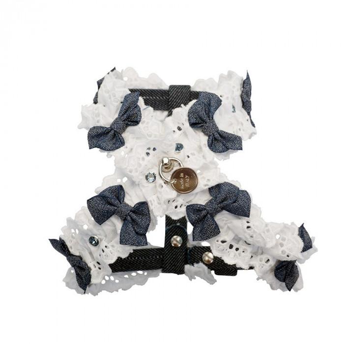 Ham decor dantela + cristale Swarovski - Mar XXS - Angelica - G2021