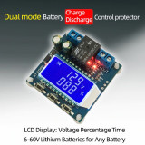 Modul incarcare baterii acumulatori solar battery charger 12V 24V 48V oled