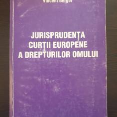 JURISPRUDENTA CURTII EUROPENE A DREPTURILOR OMULUI - Berger