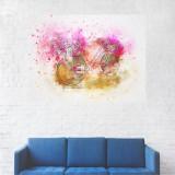 Tablou Canvas, Pictura Artistica Bicicleta - 80 x 100 cm
