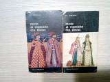 MODE SI VESMINTE DIN TRECUT -2 Vol. - Al. Alexianu (autograf) -1987, 453+399 p., Alta editura