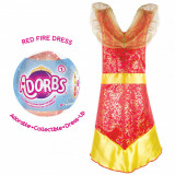 Cumpara ieftin Adorbs- Costum tip rochie, rosu