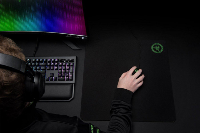 Razer gigantus elite soft mousepad mat item height: 5 millimeters