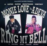 Monie Love vs. Adeva - Ring My Bell 1990, Cooltempo disc vinil Maxi Single house