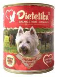 Hrana umeda pentru caini, Dietetika Vitel, 400 gr