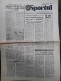 Ziarul Sportul din 25 octombrie 1977