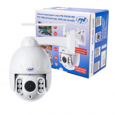 Aproape nou: Camera supraveghere video PNI IP652W WiFi PTZ 1080p 2MP 5X Zoom optic