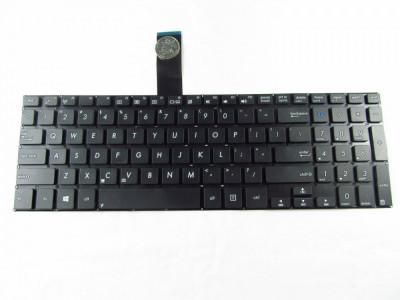 Tastatura Laptop Asus K551L us neagra fara rama foto