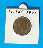 Moneda 50 Lei 1991 in stare foarte buna