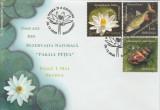 2008 Romania, FDC Rezervatia Paraul Petea - Baile 1 Mai Oradea LP 1822, prima zi