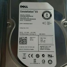 "HARD DISC 2TB 64MB 7200RPM 3.5"" Inch SAS HDD DELL SEAGATE 9YZ268"
