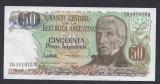 A3511 Argentina 50 pesos ND 1983 1985 UNC