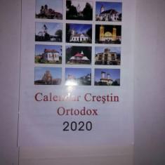 Calendar crestin ortodox de birou 2020