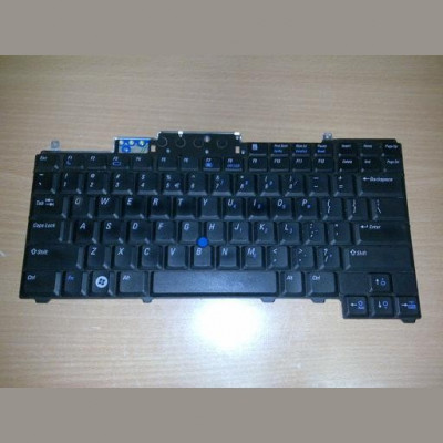 Tastatura laptop second hand Dell D620 D630 D631 D820 D830 Layout US foto