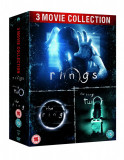 Filme Horror The Ring / Inelul 1-3 Trilogy DVD BoxSet Complete Collection, Engleza, touchstone pictures