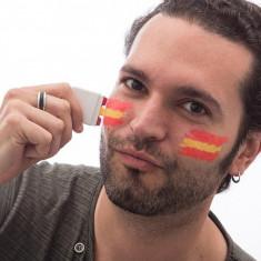 Vopsea de Față Steagul Spaniei