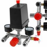 Presostat compresor aer + supape 25A 400V 3-12.5 bari VERKE V81207