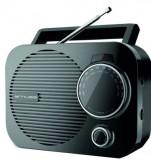 Radio cu ceas Muse M-050 R, Dual Alarm, LED (Negru)