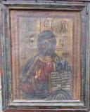 Icoana pictata pe matase secol XIX